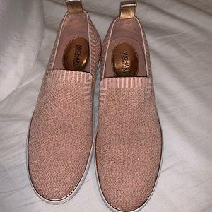 Pink rose gold Michael Kors shoes